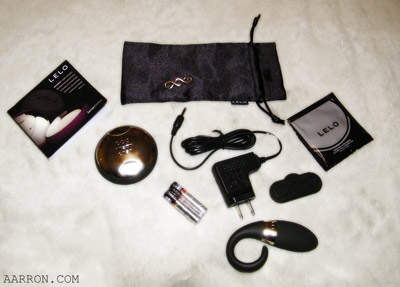LELO doesn't skimp on their products, look at this stuff!
