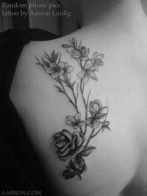 Random Tattoos For Girls Random Tattoo Phone Pics »