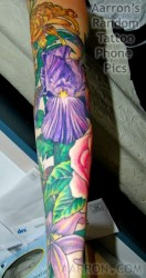 partial floral sleeve completion photo 1
