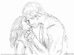 The time on this one was two minutes and forty six seconds kiss scribble