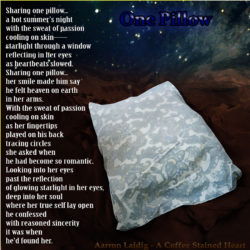 Poem Title One Pillow by Aarron Laidig
