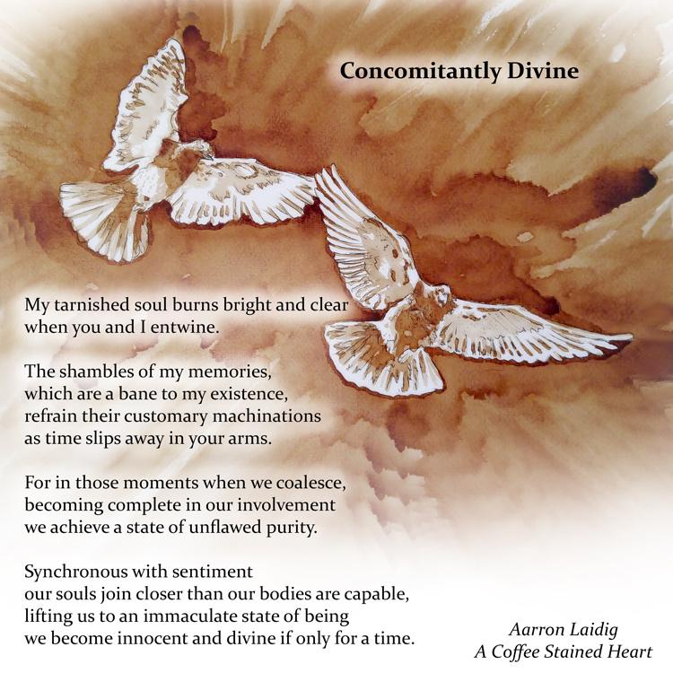 concomitantly devine love poetry