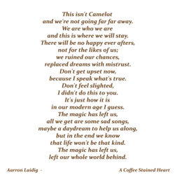 Far Far Away Poem By Aarron Laidig