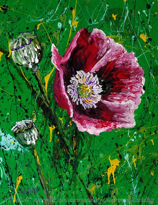 Opium Gum original painting on canvas