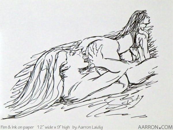 69 sex drawing